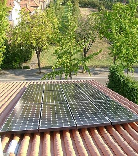 Sunpower fotovoltaico Roma 25 anni