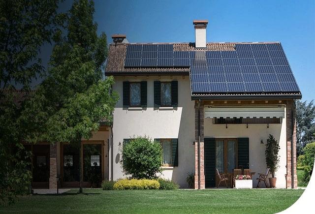 L'energia solare è sana e puo essere usata con impianti fotovoltaici.