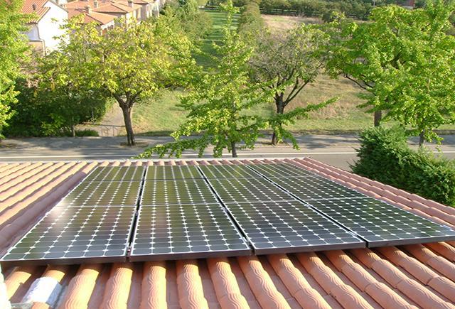 Sunpower terreni per il fotovoltaico.