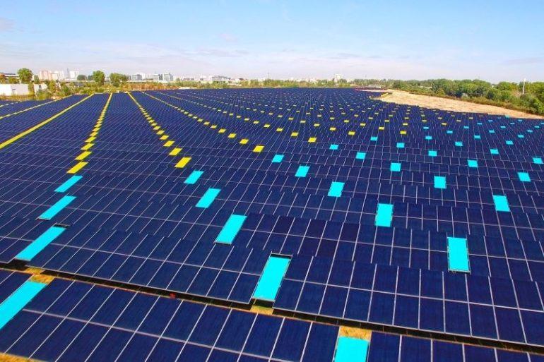 Zona inquinata nei pressi di Tolosa salvata dal Fotovoltaico e dalla Land Art