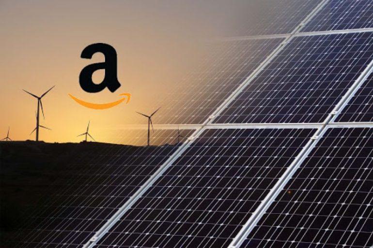 L'impegno di Amazon a produrre energia pulita con il Fotovoltaico