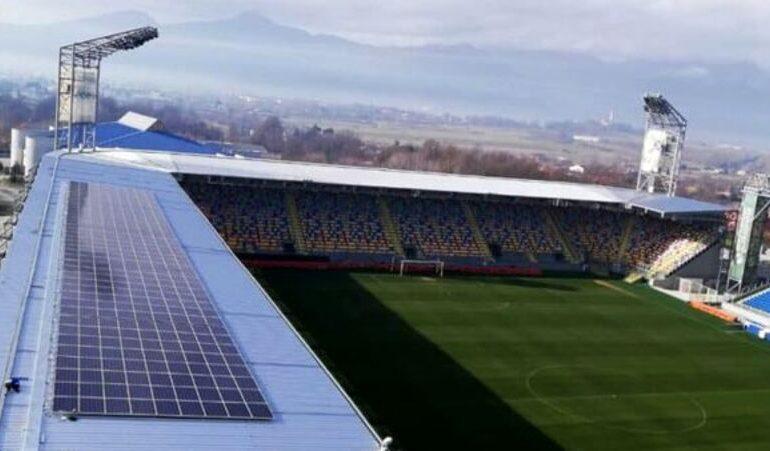 Lo stadio del Frosinone Calcio diventa sostenibile con la realizzazione di un impianto Fotovoltaico