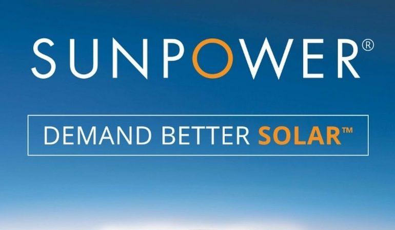Bilancio vendite moduli SunPower del 2020